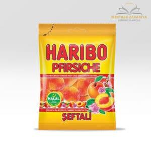 Bonbon haribo halal goût pêche