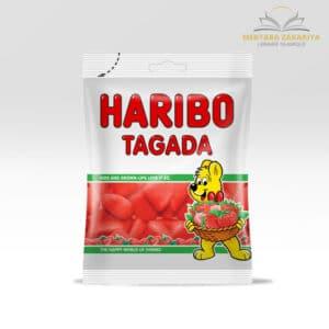 Bonbon haribo halal goût fraise tagada