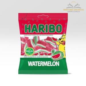 Bonbon haribo halal goût pastèque